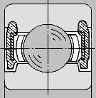 ゴムシール、非接触形
