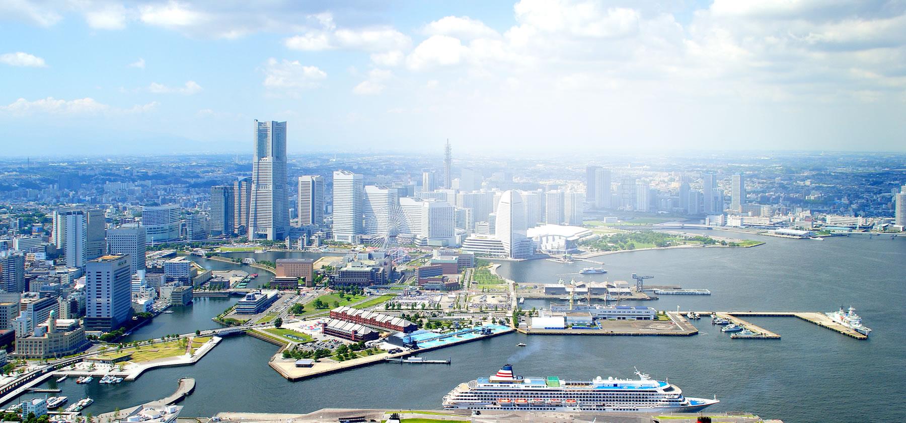 写真:横浜の風景