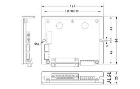 2相マイクロステップドライバーMCD103
