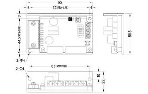2相マイクロステップドライバーSD4030B2